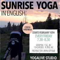 Sunrise yoga